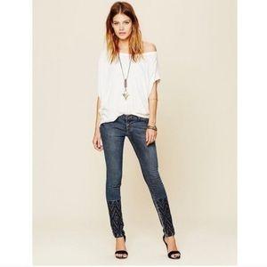 Free People Artisan De Luxe skinny jeans